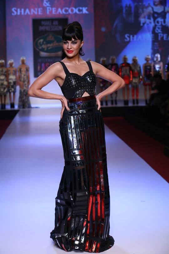 Jacqueline was truly the perfect showstopper in every sense of the word.