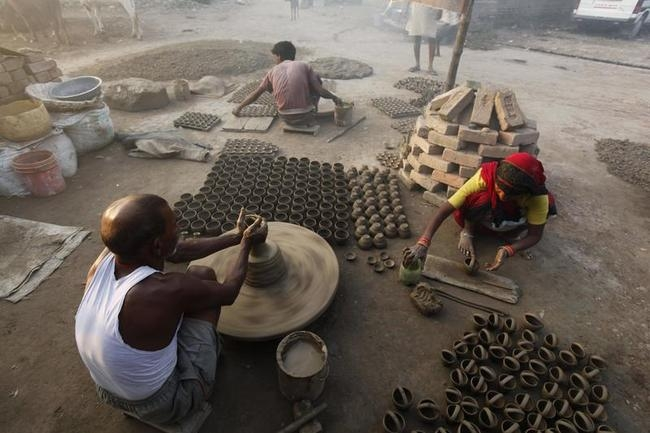 How Diwali Diyas Are Made
