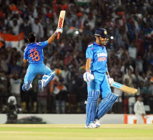 India Win 6th ODI