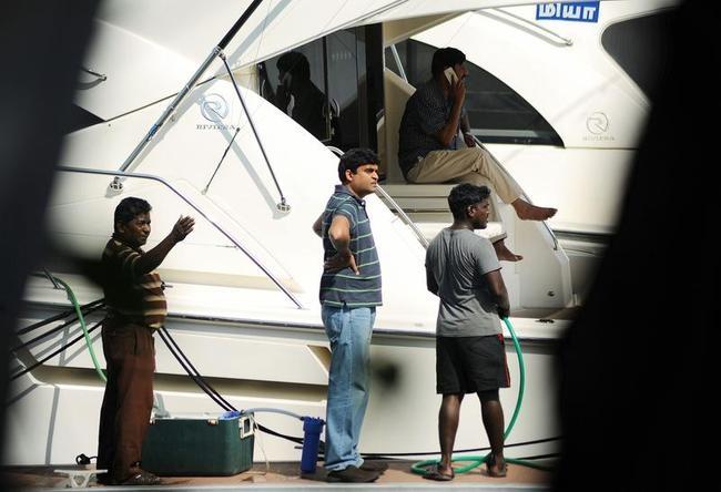 Gurunath Meiyappan At His Yacht