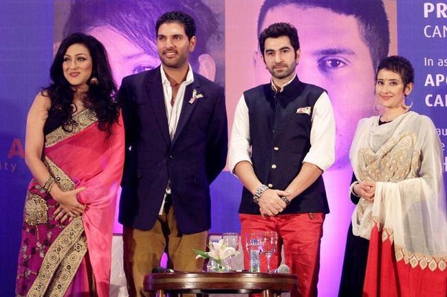 Manisha Koirala, Yuvraj Singh