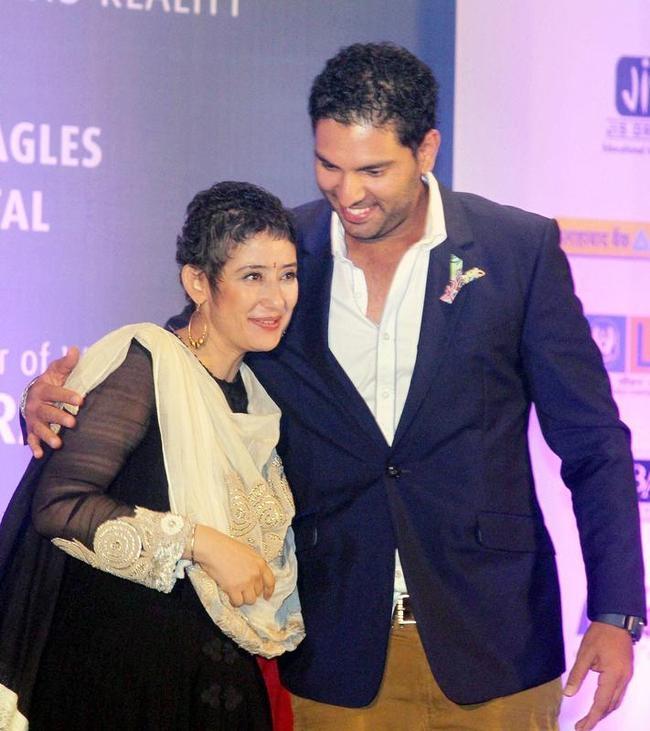 Yuvraj Singh and Manisha Koirala