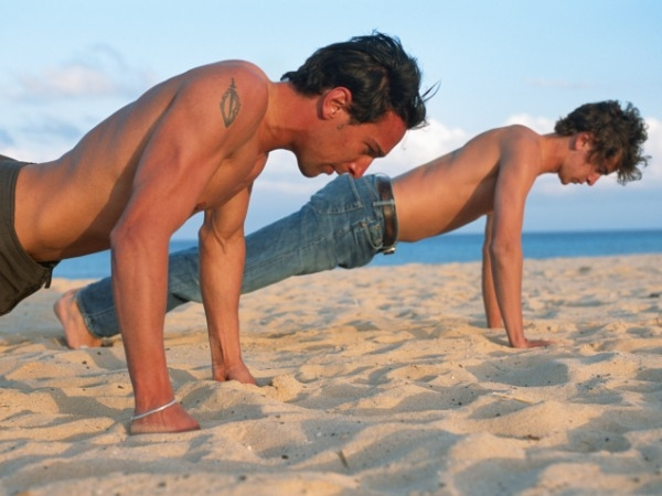 Workouts: 20 Best Beach Workouts for Fitness: Push-Up