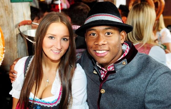 David Alaba, Kaja Butylina