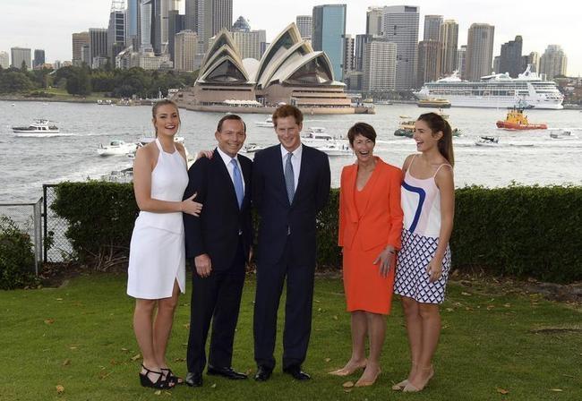 Harry, Tony Abbott