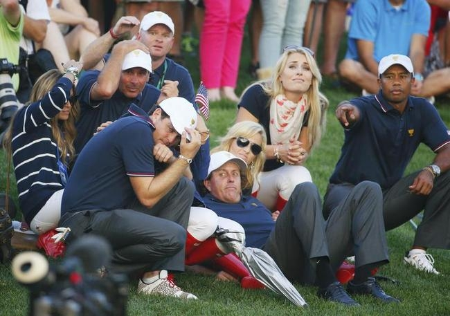 Fred Couples, Keegan Bradley, Tiger Woods, Lindsey Vonn, Phil Mickelson
