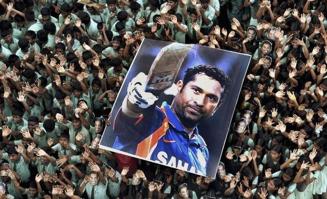 Sachin and His Fans