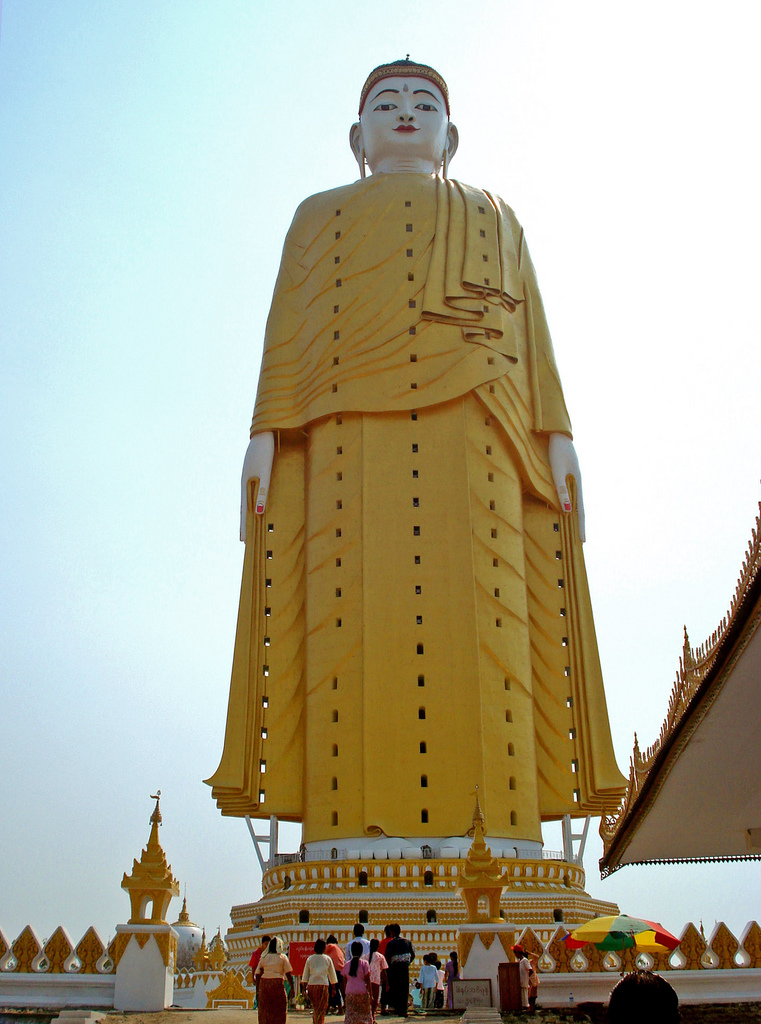 Laykun Setkyar statue, Myanmar