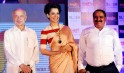Kangana Ranaut, Vishwas Patil and Sushil Kumar Shinde