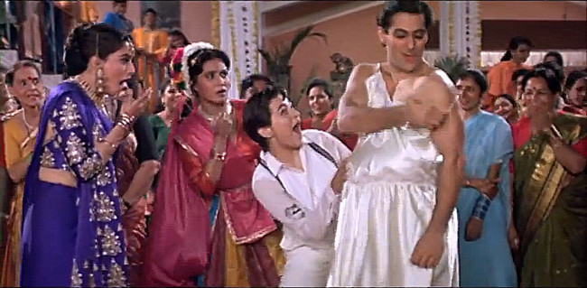 Salman Khan in Hum Apke Hain Koun!
