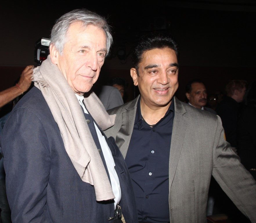 Kamal Haasan and Costa Gavras