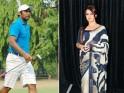 Mahima Chaudhary & Leander Paes