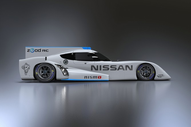 Nissan ZEOD RC Electric Race Car Prototype