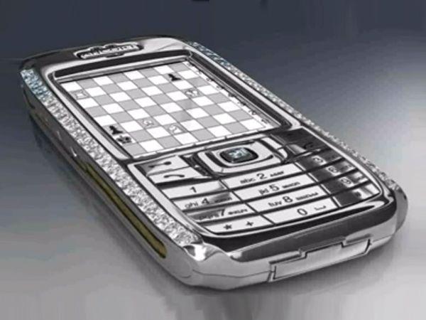 Peter Aloisson's Diamond Crypto Smartphone