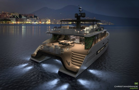 Luxury Catamaran Concept