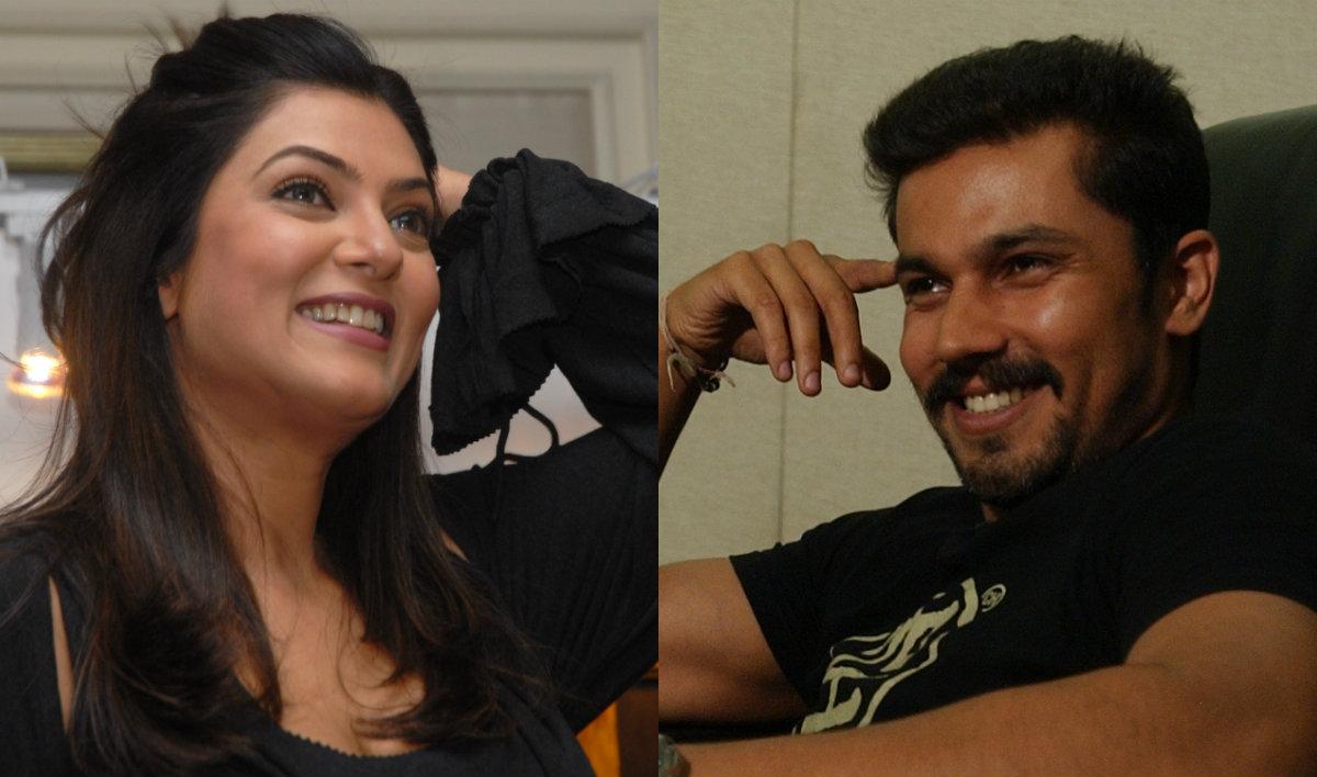 Sushmita Sen and Randeep Hooda