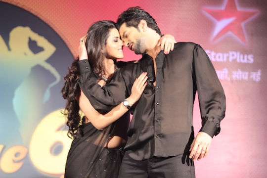 Sexy Ridhi and the handsome Raqesh