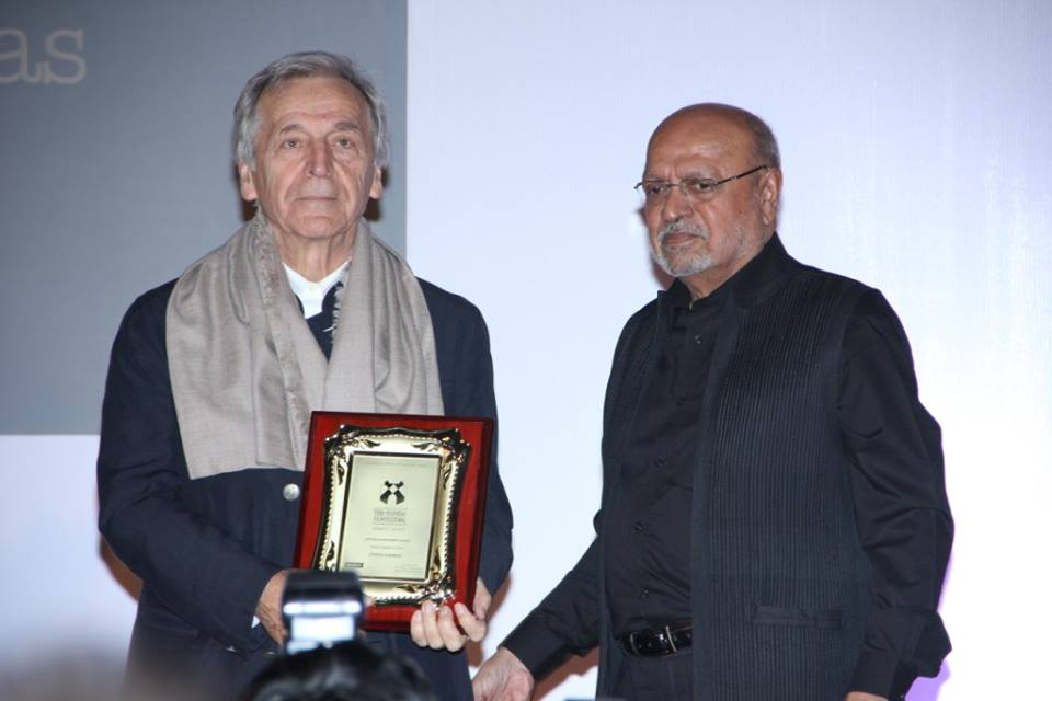 Shyam Benegal and Costa Gavras