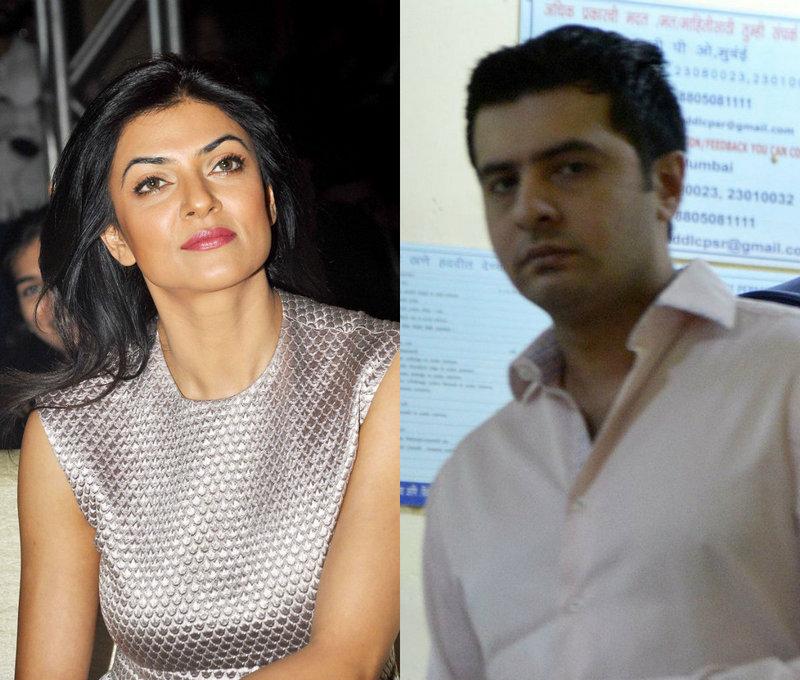 Sushmita Sen and Ritik Bhasin