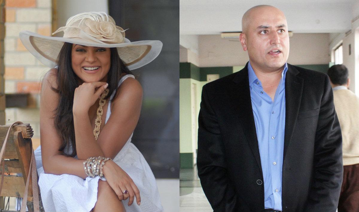 Sushmita Sen and Sabeer Bhatia