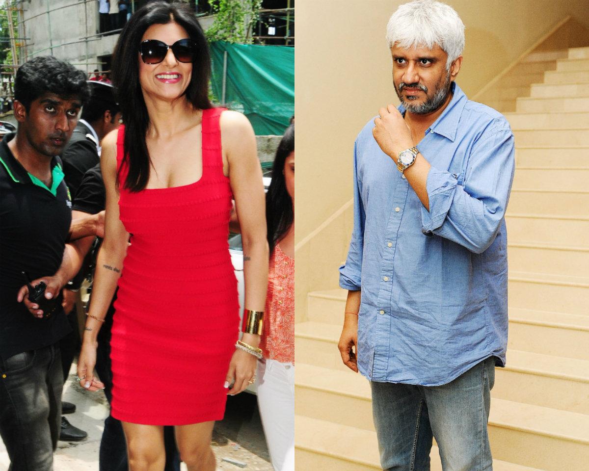 Sushmita Sen and Vikram Bhatt