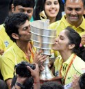 Hyderabad Celebrate IBL Win
