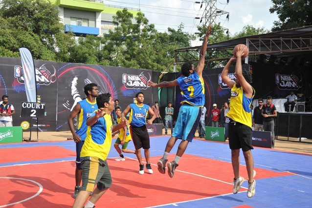 NBA Jam 2013 in Hyderabad