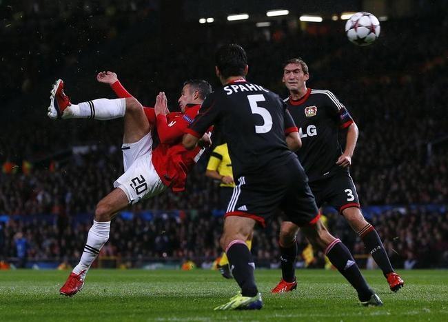Manchester United Vs Bayer Leverkusen