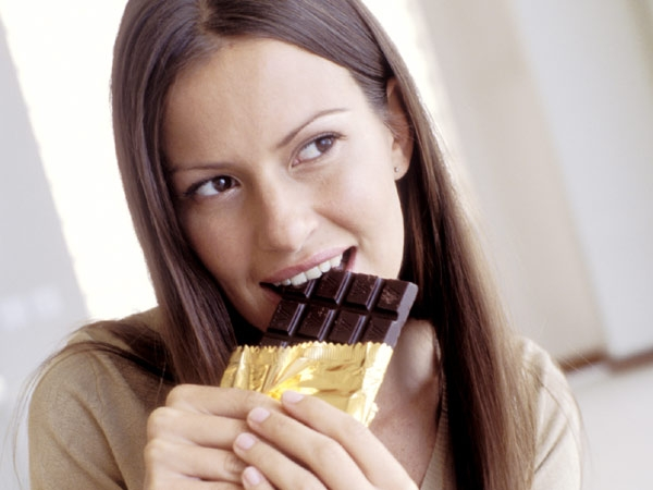 Natural Food to Suppress Hunger # 9: Dark chocolate