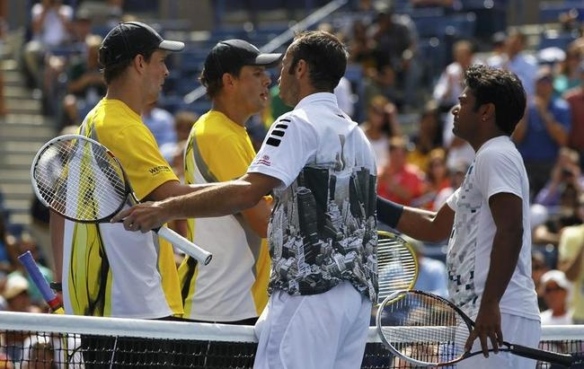 Leander Paes, Radek Stepanek, Bob and Mike Bryan