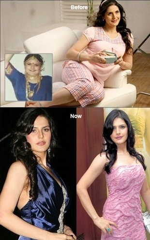 Female Celebrity Transformation from Fat-to-Fit # 11: Zarine Khan