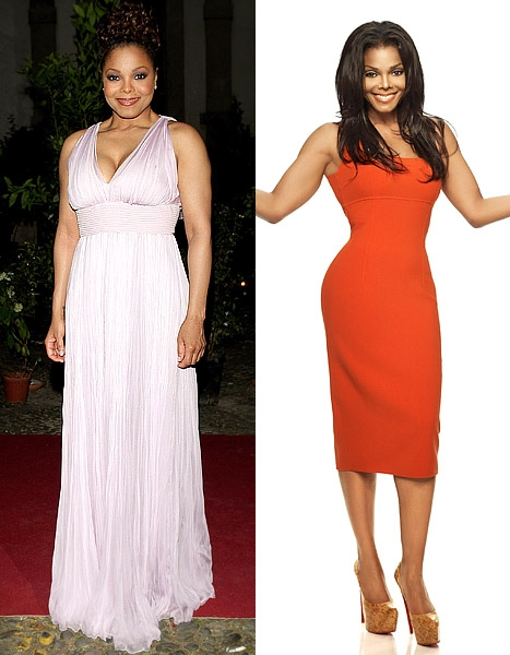Female Celebrity Transformation from Fat-to-Fit # 19: Janet Jackson