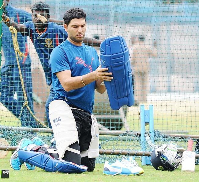 Yuvaraj Singh @ NCA