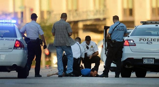 Shooting At Washington DC Navy Yard Reportedly Leaves Twelve Dead