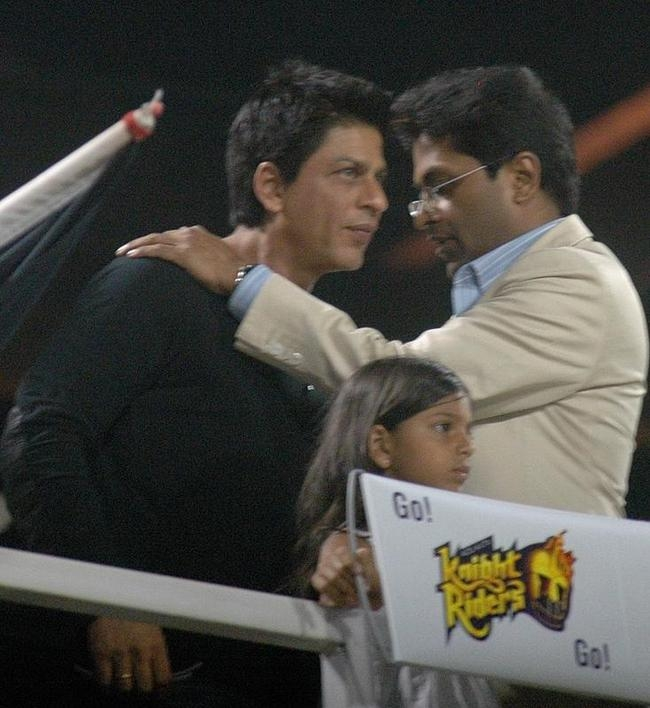 Shah Rukh Khan and Lalit Modi
