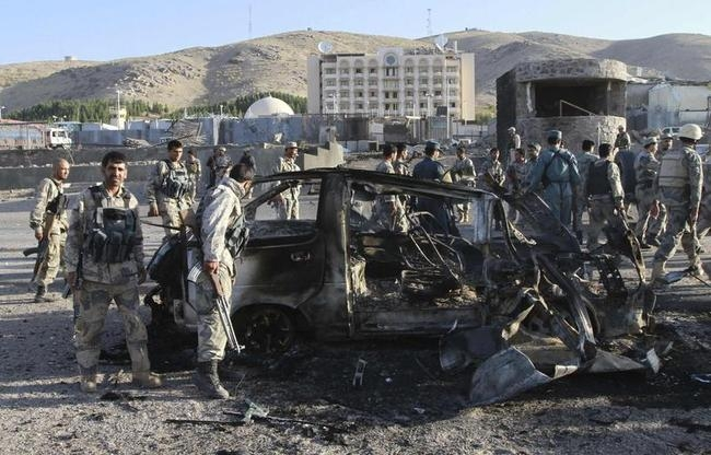 Afghan Taliban Attack US Consulate