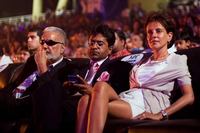 IS Bindra, Lalit Modi and Minal Modi