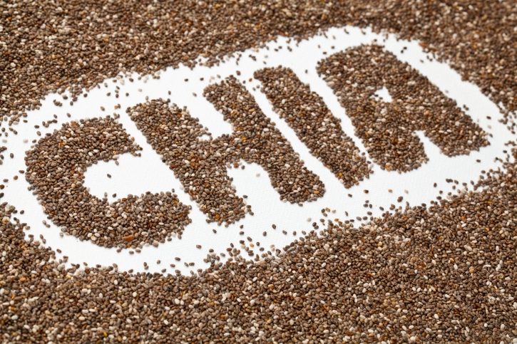 Natural Food to Suppress Hunger # 18: Chia seeds