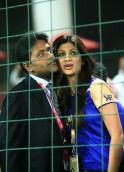 Lalit Modi and Shilpa Shetty