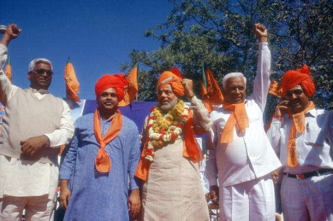 Narendra Modi During Election Campaign