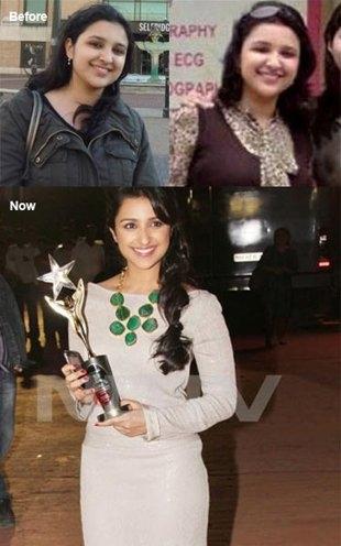 Female Celebrity Transformation from Fat-to-Fit # 9: Parineeti Chopra