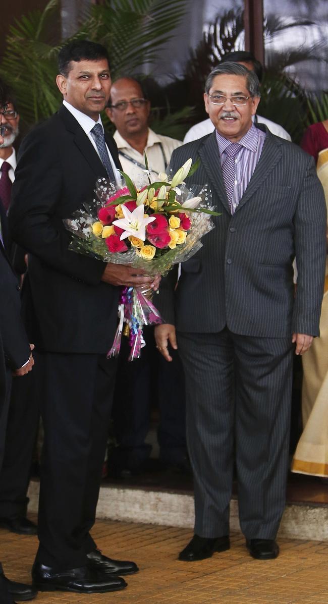 Raghuram Rajan Takes Over as RBI Governor