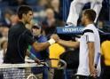 Novak Djokovic and Mikhail Youzhny
