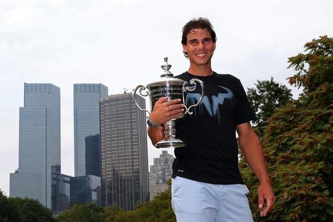 Rafael Nadal - New York City Trophy Tour