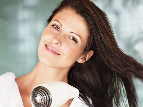 Ten Commandments for Healthy Hair Don't make hair styling a habit