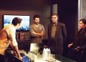 Neil Bhoopalam, Anil Kapoor, Shivkumar Subramaniam and Shabana Azmi
