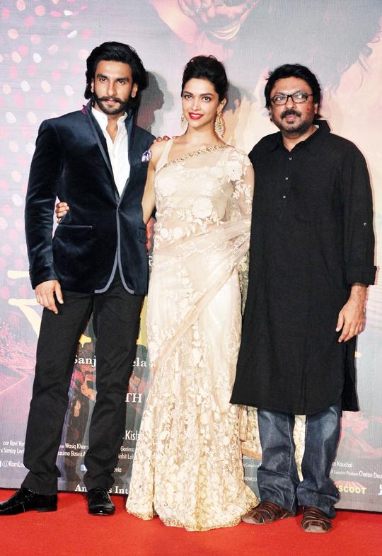 Deepika Padukone, Ranveer Singh, Sanjay Leela Bhansali