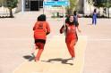 Afghan Girls Play Cricket