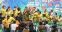 Hyderabad Hotshots Celebrate IBL Win
