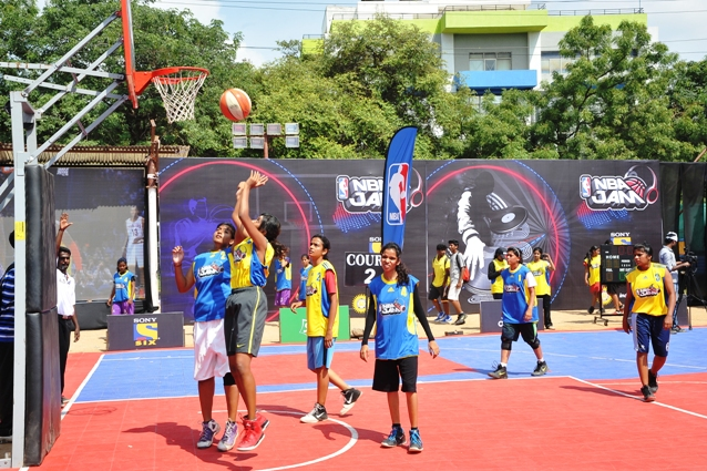 NBA Jam in Hyderabad
